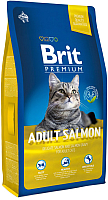 Корм для кошек Brit Premium Cat Adult Salmon / 513130 (8кг) -