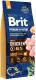 Корм для собак Brit Premium by Nature Adult M / 526376 (15кг) -
