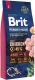Корм для собак Brit Premium by Nature Junior L / 526437 (15кг) -