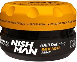 Паста для укладки волос NishMan M1 Hair Defining Paste матовая (100мл)