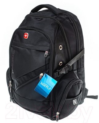 Рюкзак Miru Swissgear / 1008 (черный)