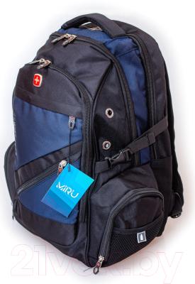 Рюкзак Miru Swissgear / 1009 (синий)