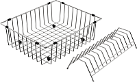 Корзина для посуды Omoikiri CO-03-IN (4999013) -