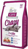 Корм для кошек Brit Care Cat Crazy I'm Kitten / 132601 (2кг) -