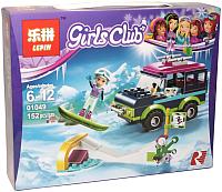 Конструктор Lepin Girls Club. Горнолыжный курорт: Внедорожник / 01049 -