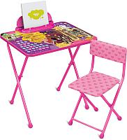 Комплект мебели с детским столом Ника Disney 2 Д2Р Рапунцель -