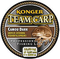 Леска монофильная Konger Team Carp Camou Dark 0.40мм 1000м / 229001040 -