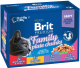 Корм для кошек Brit Premium Cat Family Plate Chunks / 100313 (12x100г) -