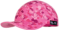 Бейсболка Buff 5 Panels Cap Kids Hello Kitty Camo Pink (120092.538.10.00) -