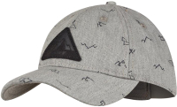 Бейсболка Buff Baseball Cap Kids Neem Grey (122557.937.10.00) -