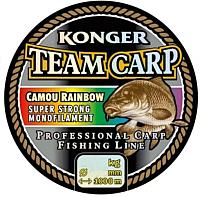 Леска монофильная Konger Team Carp Rainbow 0.40мм 1000м / 235001040 -