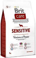 Корм для собак Brit Care Sensitive Venison & Potato / 132746 (3кг) -