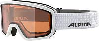 Маска горнолыжная Alpina Sports 2019-20 Scarabeo S2 L50 / A7248011 (белый) -