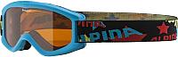 Маска горнолыжная Alpina Sports Carvy 2.0 SLT S2 / A7076488 (бирюзовый) -