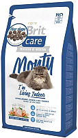 Корм для кошек Brit Care Cat Monty I'm Living Indoor / 132610 (2кг) -