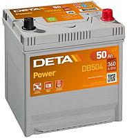 Автомобильный аккумулятор Deta Power DB504 (50 А/ч) -