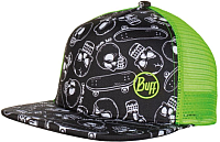 Бейсболка Buff Trucker Cap Kids Bone Multi (120059.555.10.00) -