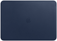 Чехол для ноутбука Apple Leather Sleeve for 16 MacBook Pro Midnight Blue / MWVC2 -