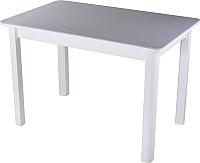 Обеденный стол Домотека Румба ПР 70х110-147 (серый/белый/04) -