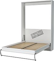 Шкаф-кровать Макс Стайл Smart 18мм 90x200 (светло-серый U708 ST9) -