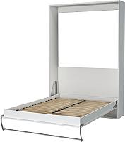 Шкаф-кровать Макс Стайл Smart 18мм 140x200 (светло-серый U708 ST9) -