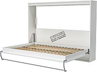 Шкаф-кровать Макс Стайл Strada 18мм 90x200 (светло-серый U708 ST9) -