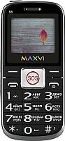 Мобильный телефон Maxvi B8 (черный) -