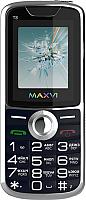 Мобильный телефон Maxvi T8 (темно-синий) -