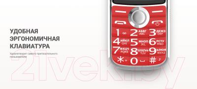 Мобильный телефон Maxvi T8 (темно-синий)