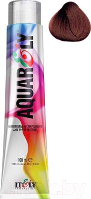 Крем-краска для волос Itely, Бордовый, Aquarely 5R/5.4