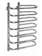 Полотенцесушитель водяной Ростела Бридж 16x70x45/7 (1