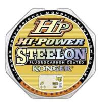 Леска монофильная Konger Steelon Hi Power Fluorocarbon 0.25мм 150м / 241150025 -