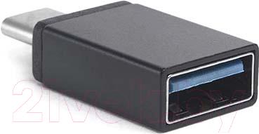 Адаптер Atom USB Type-C 3.1 - USB А 3.0 (черный)