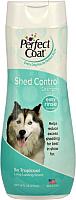 Шампунь для животных 8in1 Perfect Coat Shed Control Tropicool (473мл) -