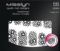 Наклейки для ногтей Misslyn Quick Nail Designer 55 -