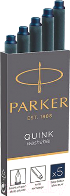 Чернила для перьевой ручки Parker 1950385