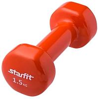 Гантель Starfit DB-101 (1.5кг, оранжевый) -