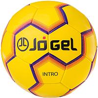 Футбольный мяч Jogel JS-100 Intro (размер 5, желтый) -