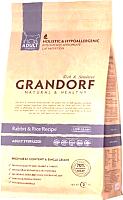 Корм для кошек Grandorf Adult Sterilized Rabbit&Rice (2кг) -