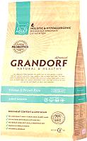 Корм для кошек Grandorf Living Probiotics Adult Indoor 4 Meat&Brown Rice (2кг) -