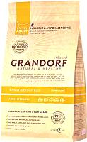 Корм для кошек Grandorf Living Probiotics Adult Sterilized 4 Meat&Brown Rice (2кг) -