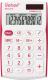 Калькулятор Rebell SHC312+RD (белый/красный) -