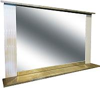 Зеркало Гамма Люкс 2 (камень светлый) -