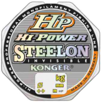 Леска монофильная Konger Steelon Hi Power Invisible 0.25мм 150м / 234150025 -