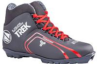 Ботинки для беговых лыж TREK Level 2 S (черный/красный, р-р 44) -