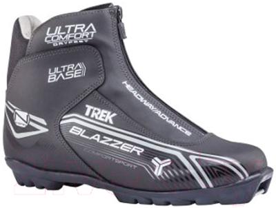 Ботинки для беговых лыж TREK Blazzer Comfort 4 NNN (черный/серый, р-р 41)