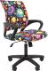 Кресло детское Chairman Kids 103 (черный пластик/нло) -