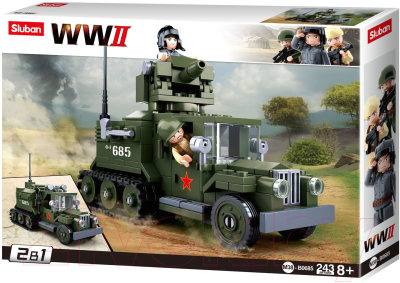 Конструктор Sluban Военная машина / M38-B0685