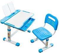 Парта+стул Cubby Vanda (голубой) -