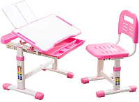 Парта+стул Cubby Vanda (розовый) -